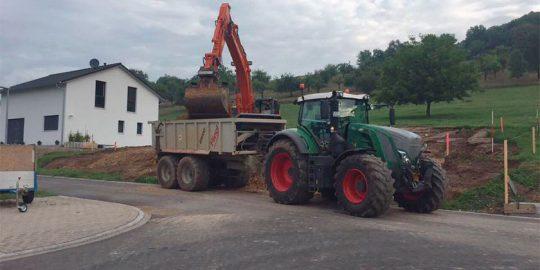 Tiefbau, Aushub Arbeiten in Waldshut-Tiengen von Wurst Tief- und Pflasterbau