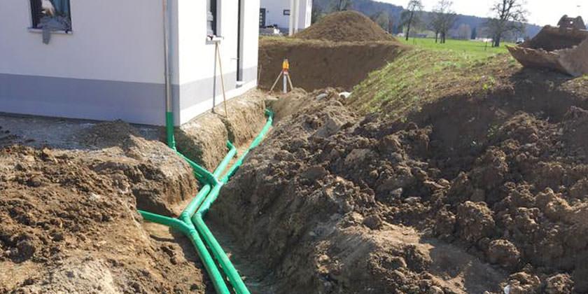 Tiefbauarbeiten und Kanalarbeiten in Waldshut-Tiengen von Wurst Tiefbau und Pflasterbau