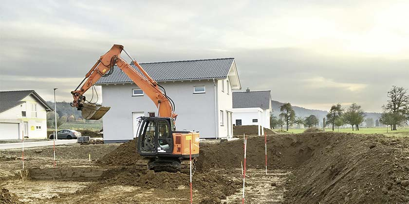 Aushub für Grundstücke | Wurst Tief- & Pflasterbau