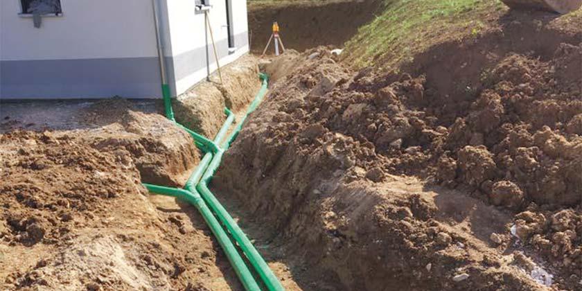 Werkleitungsbau und Kanalarbeiten | Wurst Tief- & Pflasterbau